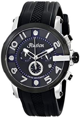 Mulco Unisex MW3-12239-025 Ilusion Roll Analog Display Swiss Quartz Watch