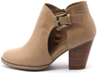 I Love Billy Christie Latte Boots Womens Shoes Casual Ankle Boots