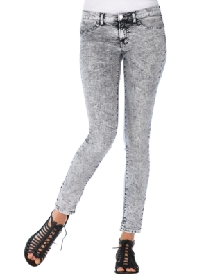 J Brand Jeans Static Acid-Wash Leggings