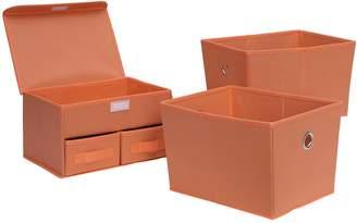 Neu Home 3-piece Foldable Storage Organizer & Tote Set