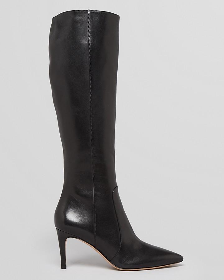 Via Spiga Pointed Toe Tall Dress Boots - Dacia High Heel