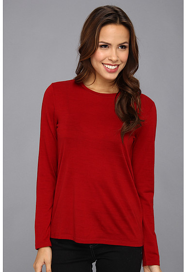 Pendleton Ultralight Merino Wool Jewel-Neck Pullover