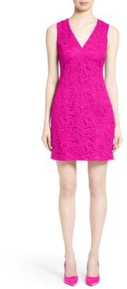 Women's Adam Lippes Lace Minidress $1,150 thestylecure.com