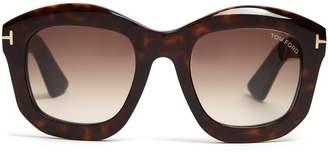 Tom Ford Julia square-frame sunglasses
