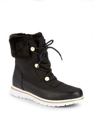 7c38ba93c47a7 Carvela Randy Faux Fur Lace-Up Boots