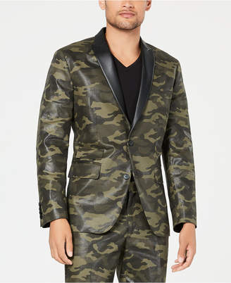 INC International Concepts I.n.c. Men's Slim-Fit Camo Blazer, Created for Macy's