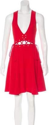 Ronny Kobo Sleeveless Mini Dress