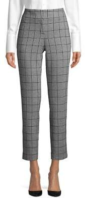 Nipon Boutique Gingham Cropped Pants