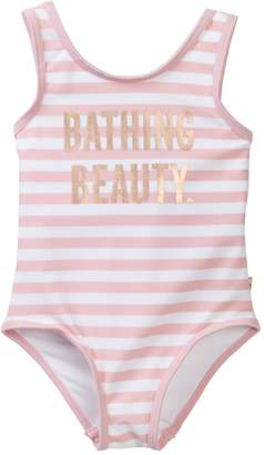 Kate Spade bathing beauty one-piece swimsuit (Baby Girls)