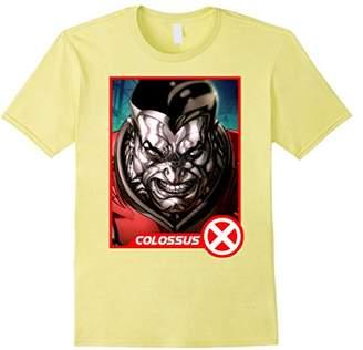 Marvel X-Men Colossus Headshot Profile Trading Card T-Shirt