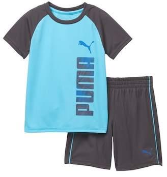 Puma Tee & Shorts Set (Toddler Boys)