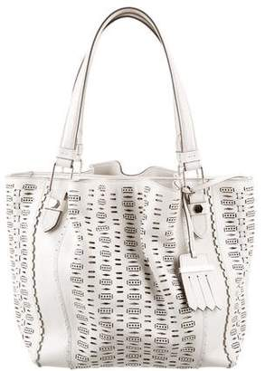 Tod's Laser Cut Leather Bag