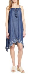 Tommy Bahama Chambray All Day Embroidered Sundress