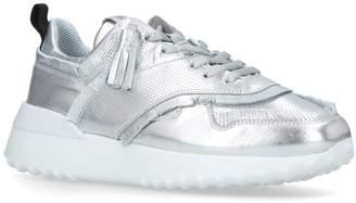 Tod's Metallic Fringed Tassel Sneakers