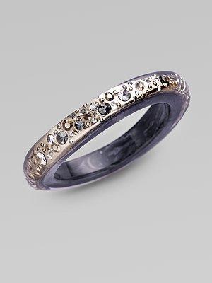 Luc Keiffer Crystal-Studded Bracelet
