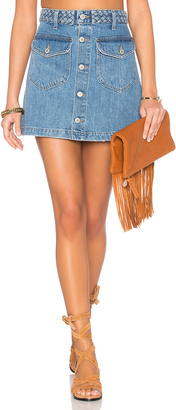 Tularosa Madelyn Mini Skirt $138 thestylecure.com