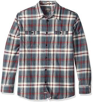 Quiksilver Waterman Men's Raleigh Button Down Flannel Shirt