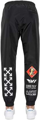 Off-White Product Testing Gore-Tex Track Pants