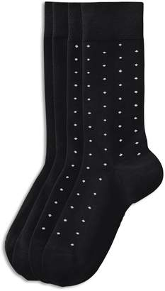 Jockey Two-Pack Mercerized Dot Dress Socks