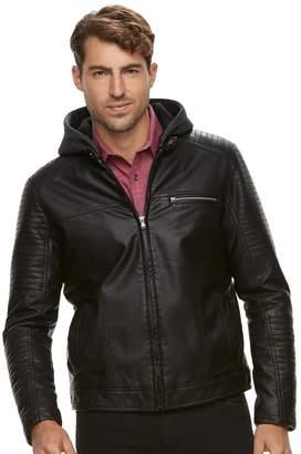 Rock & Republic Men's Faux-Leather Jacket