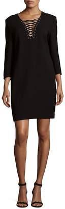 The Kooples Women's Long Sleeve Crepe Dress