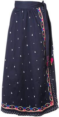 Temperley London embroidered skirt