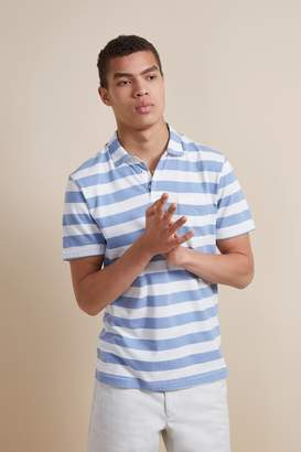 French Connenction 24'S Harbour Stripe Polo Shirt