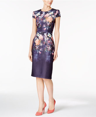 Betsey Johnson Floral-Print Sheath Dress $138 thestylecure.com