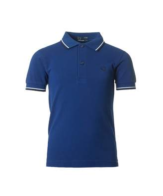 Fred Perry Kids Twin Tipped Short Sleeved Logo Polo