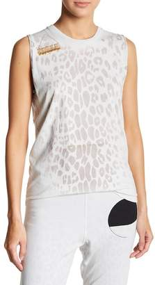 Freecity Free City Golden Line Leopard Tank Top