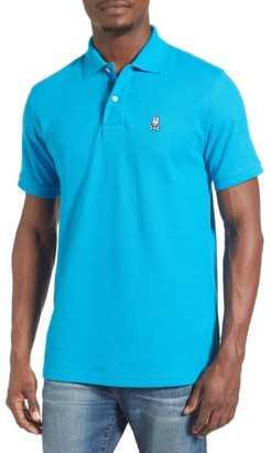 Men's Psycho Bunny The Classic Pique Polo $85 thestylecure.com
