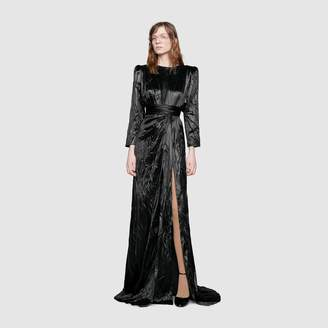 Gucci Satin duchesse gown