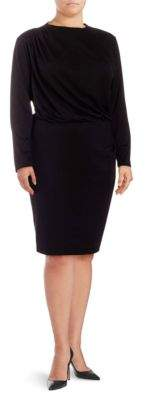 Alexia Admor Long-Sleeve Sheath Dress