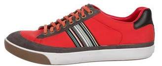 Paul Smith Neoprene Low-Top Sneakers