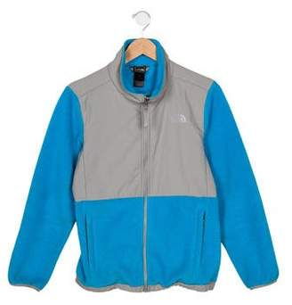 The North Face Girls' Textured Zip-Up Jacket