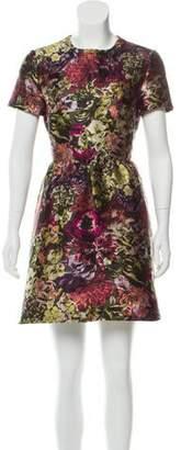 Valentino Bambolina Camu Flower Dress