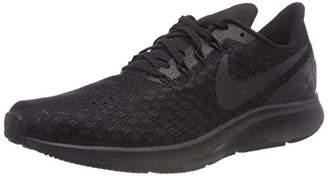 Nike Men's Air Zoom Pegasus 35 Low-Top Sneakers, (Black/Oil Grey/White 002)