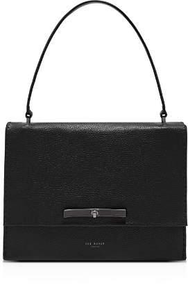 Ted Baker Jessi Concertina Medium Leather Shoulder Bag