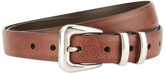Brunello Cucinelli Reversed Leather Belt
