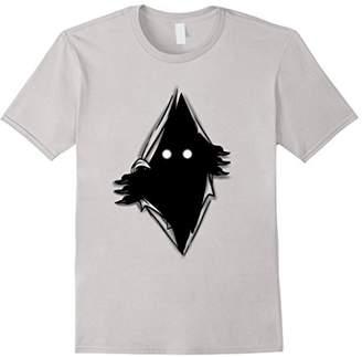 Torn t-shirt monster darkness terror horror