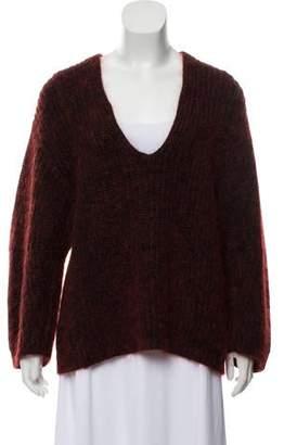 Alexander Wang Oversize V-Neck Sweater