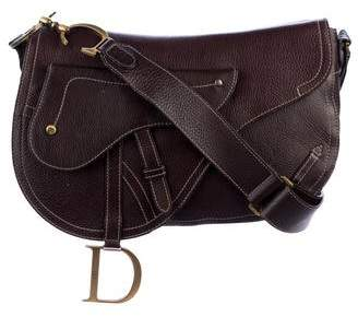 Christian Dior Saddle Messenger Bag