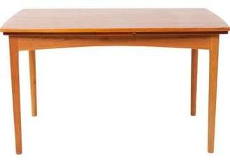 Teak & Oak Mid-Century Dining Table