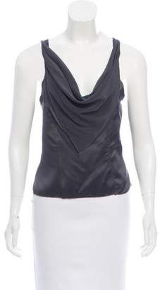 Behnaz Sarafpour Sleeveless Silk Top w/ Tags