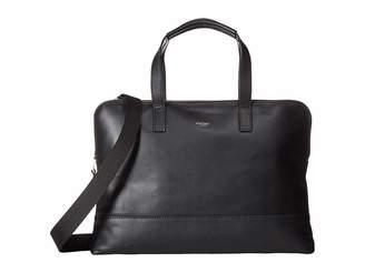 Knomo London Mayfair Luxe Reeves Slim Briefcase