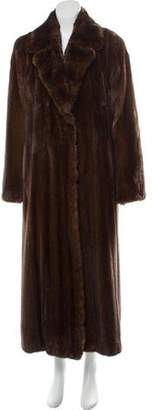 Ben Kahn Long Mink Fur Coat
