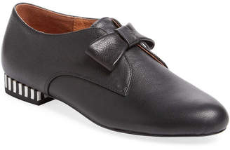 F-Troupe Leather Bow Loafer