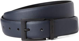 Kenneth Cole Reaction Navy & Black Reversible Faux Leather Belt