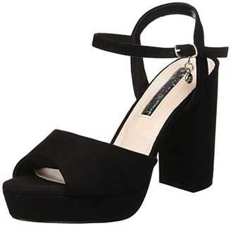 b2e056593c3 ... Xti Women s 35000 Sling Back Heels Black Negro