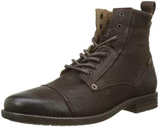 Levi's Footwear and Accessories Men's Emerson Biker Boots, (Medium Brown 27)